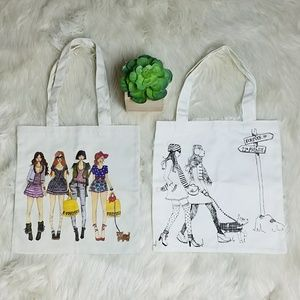 Bundle 2 Forever 21 Tote Bags